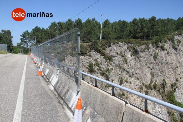 Aumentan las medidas de seguridad en un puente de Baiona