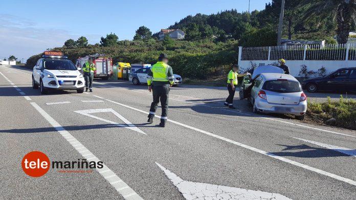 Herida en Oia tras salirse de la vía el turismo que conducía