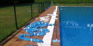 Registran actos vandálicos en las piscinas municipales de Tui y en el parque infantil de Caldelas