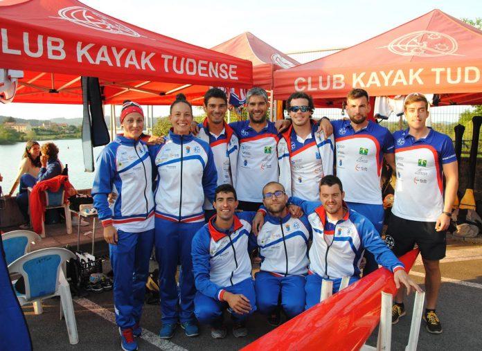 El Kayak Tudense, ante el desafío del Campeonato de España de Invierno