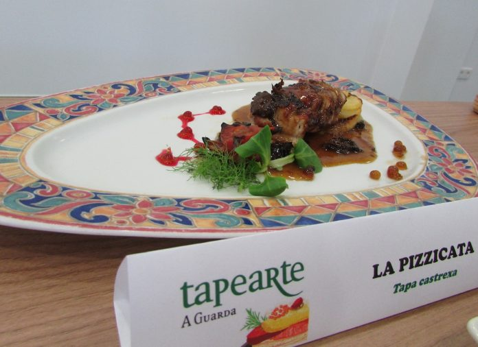 La Pizzicata gana el concurso a la mejor tapa del Tapearte A Guarda 2017