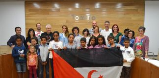 Los niños saharauis llegan a O Baixo Miño y O Val Miñor