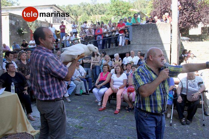 Las pujas de San Antonio de Gondomar cumplieron con la tradición