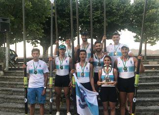 Oro y plata para el club Remo do Miño de Tuy-Seta en la Rowers Fest celebrada en Caminha
