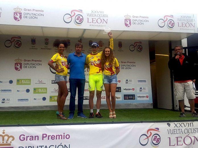 El Club Ciclista Rías Baixas lidera la Vuelta a León