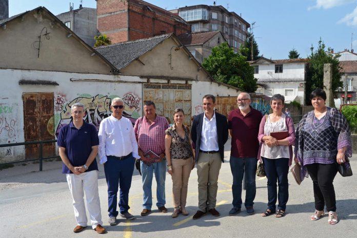 Tui finaliza o expediente para a apertura da primeira fase da rúa Ourense