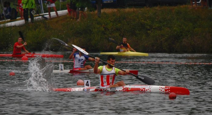 Dos palistas del Kayak Tudense triunfan en el Campeonato de España