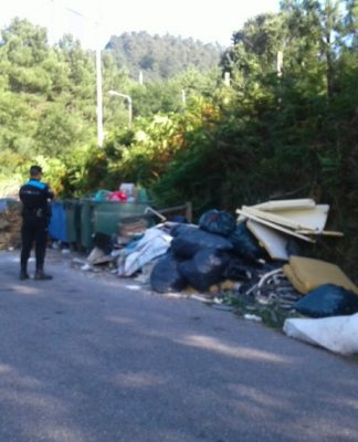 Identificadas cinco personas por vertidos incontrolados en Gondomar