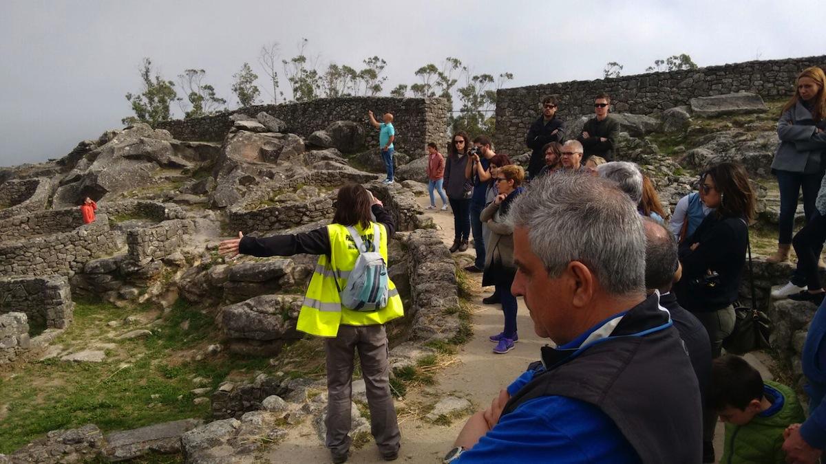 El Patronato Municipal organiza visitas guiadas al monte Santa Trega de A Gua...