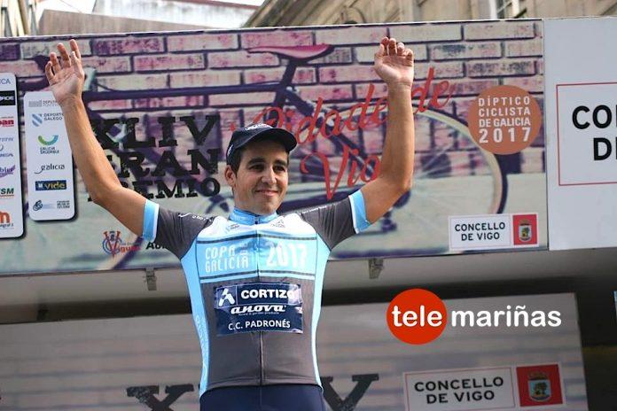 Un pletórico Aser Estévez repite victoria en el Díptico de Galicia