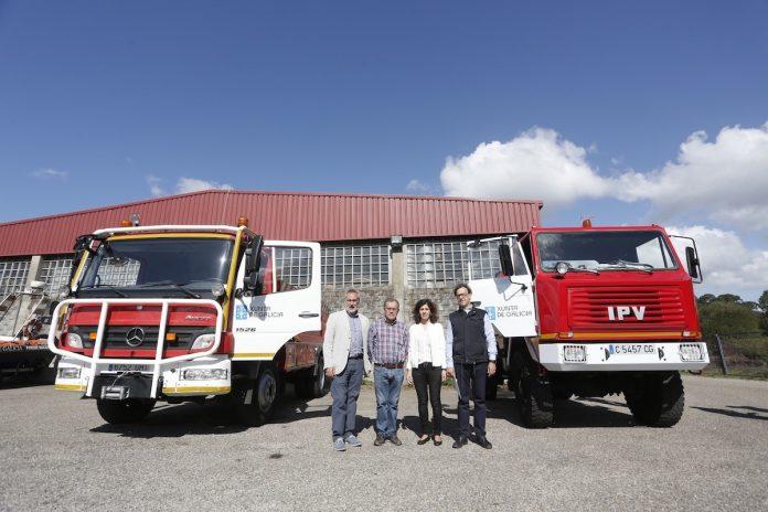 La Xunta entrega un vehículo contra incendios al Concello de Oia