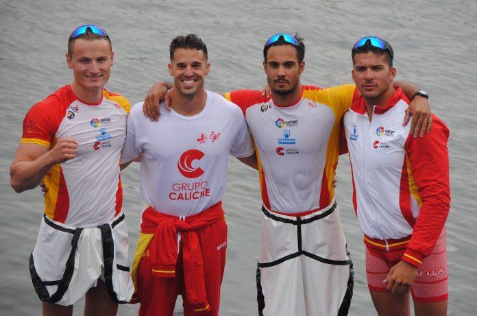 Germade, oro, Cristian Toro, plata, y Roi Rodríguez, noveno en el campeonato del mundo