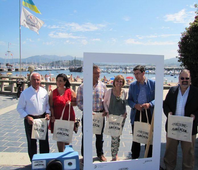 """""""Presume de Galicia"""" cierra su campaña en Baiona"""
