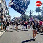 A Guarda vivió su tradicional desfile de bandas