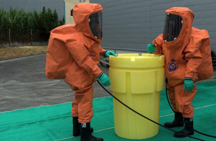 La Xunta incorpora equipos de protección química a la dotación de medios anticontaminación del Plan Camgal