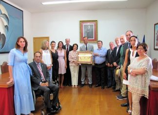 Remigio Nieto, homenajeado en Baiona