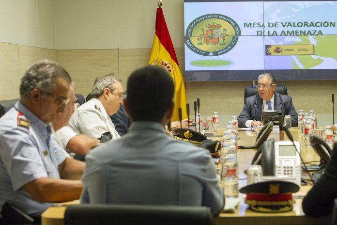 La Mesa de Valoración de la Amenaza Terrorista acuerda mantener el actual nivel de alerta 4 reforzado vigente en nuestro país