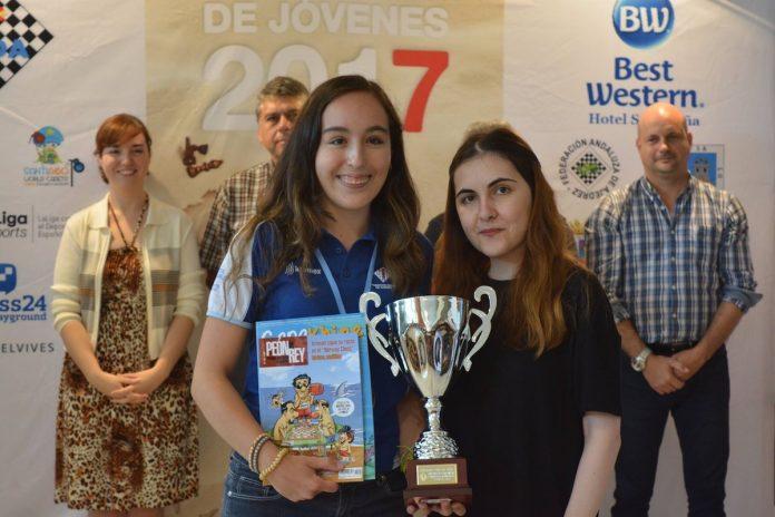 La baionesa Mireya Represa, campeona de España de Ajedrez