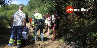 Herida una peregrina rumana que realizaba el Camino Portugués por la Costa a su paso por Oia