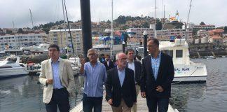 Las embarcaciones en tránsitos dejan un beneficio a Baiona de más de 100.000 euros en el mes de julio