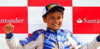 Adrián Malheiro, el baionés que con tan sólo diez años triunfa en el mundo de los karts