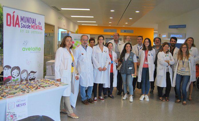 Milleiros de Avelaíñas dan cor o Hospital Álvaro Cunqueiro