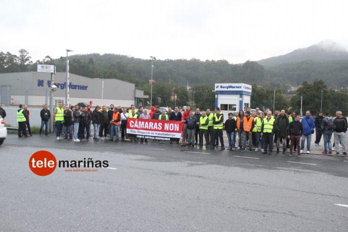 Huelga indefinida en BorgWarner por la instalación de cámaras de vídeovigilancia en los puestos de trabajo