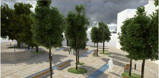 Gondomar humanizará la plaza de A Paradela para conectarla al parque de A Coelleira