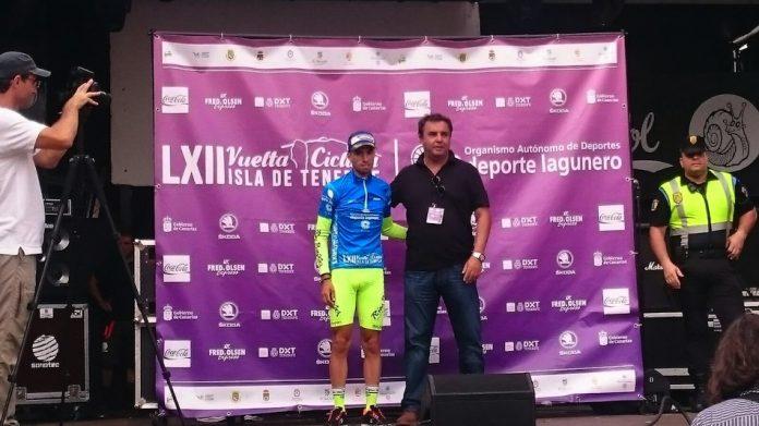 Triunfo de Nanclares en la primera jornada de la Vuelta Ciclista a la Isla de Tenerife