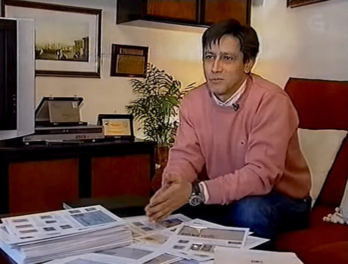 El guardés José Ángel Gándara, medalla de oro en la exposición universal de filatelia de Brasilia