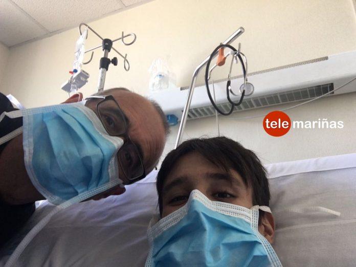 Juan González, alcalde de Nigrán, dona un riñón para salvarle la vida a su hijo