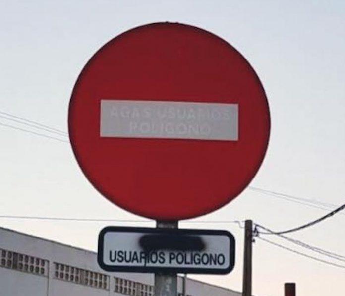 """Borran el """"excepto"""" de las señales bilingües de Gondomar"""