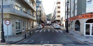 Baiona humaniza la calle Marqués de Quintanar