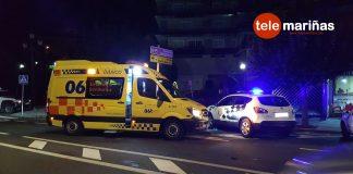 Herida grave tras ser atropellada en un paso de peatones en Baiona