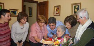 La abuela de A Guarda cumple 108 años