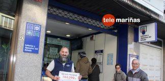 El Gordo de la Primitiva reparte 164.000 euros en A Guarda
