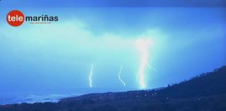 Mucho viento, cerca de 500 rayos y poca lluvia