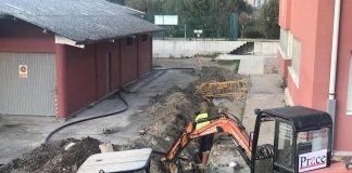 Gondomar inicia la remodelación del pabellón de deportes y conecta tres edificios municipales al saneamiento