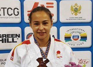 La guardesa Tecla Cadilla, bronce en el Europeo Sub-23 de judo