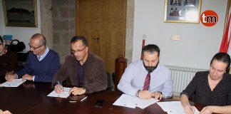 El GES de O Val Miñor firma su primer convenio colectivo tras más de 20 años de historia