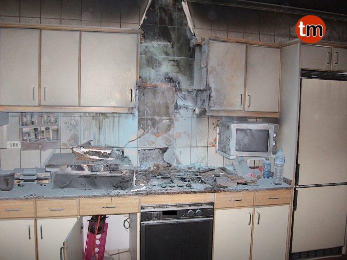 El GES de O Val Miñor sofoca un incendio en una vivienda de Nigrán