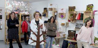 Siete artesanas de Mestura abren una tienda en Baiona