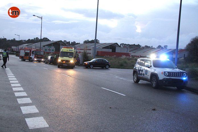 Un joven herido en una colisión entre dos vehículos en Porto do Molle