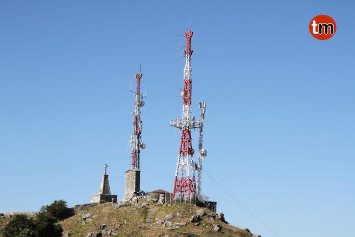 Solicitan la retirada de las antenas de televisión del monte Santa Trega de A Guarda