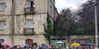Aumentan los peregrinos que se pernoctan en el albergue de A Guarda