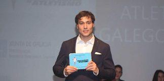 El guardés, Sergio Rodríguez, elegido mejor atleta gallego de la temporada