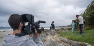 Estrenan un cortometraje grabado en Baiona, Nigrán, Oia y Tomiño