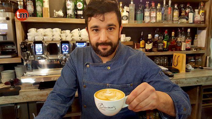 El baionés Rubén Rodríguez aspira a ser el mejor barista internacional