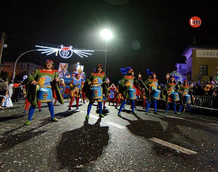 Mañufe vence en el desfile de Nigrán