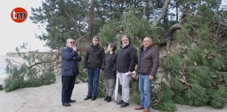 Socialistas da Guarda trasladan o problema do litoral do esteiro ata os parlamentos Galego e Español